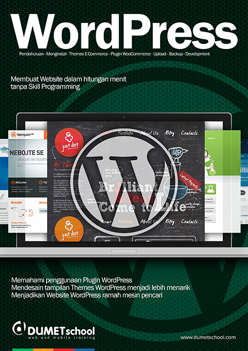 Kursus WordPress DUMET School