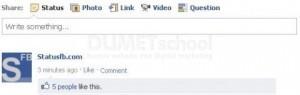 Cara Posting Status atau Komentar Kosong Pada Facebook