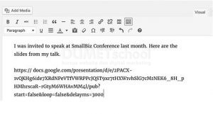 Cara Menambahkan Google Slide Presentasi untuk WordPress
