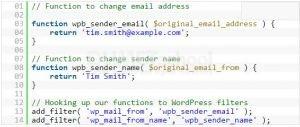 Cara Mengubah Nama Pengirim di Email Keluar Pada WordPress