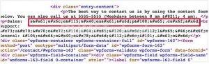 Cara Melindungi Email dari Spammer dengan WordPress Email Encoder