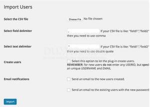 Cara Mengimpor dan Mengekspor User di WordPress