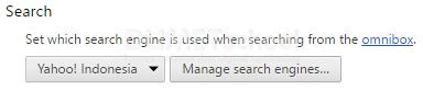 Cara Mengubah Default Search Engine di Google Chrome