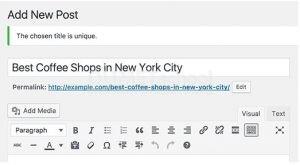 Tips Mencegah Judul Artikel yang Sama di WordPress