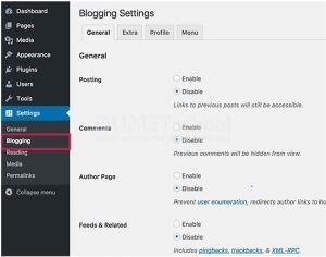 Cara Nonaktifkan Fitur Blog di WordPress Dengan Mudah