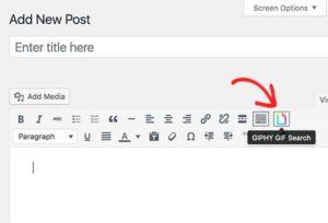Cara Menambahkan GIF di WordPress Menggunakan Giphypress