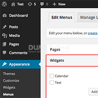 Menu pada WordPress serta Fungsinya