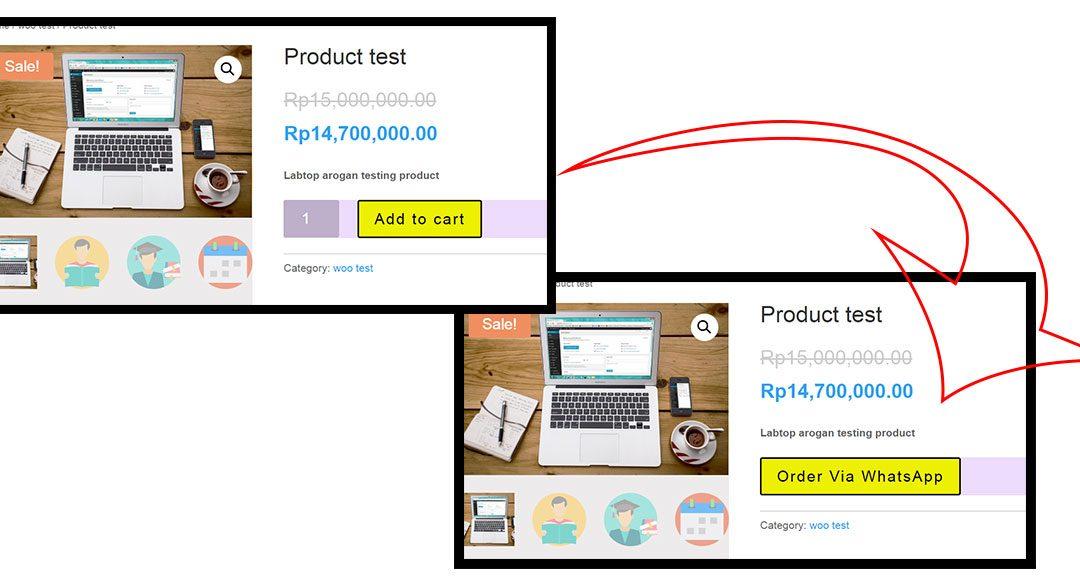 Cara Mengganti Add To Cart Pada WooCommerce ke Klik Whatsapp